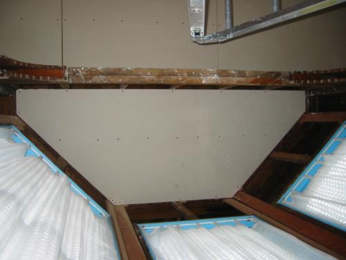 drywall: bay ceiling 2