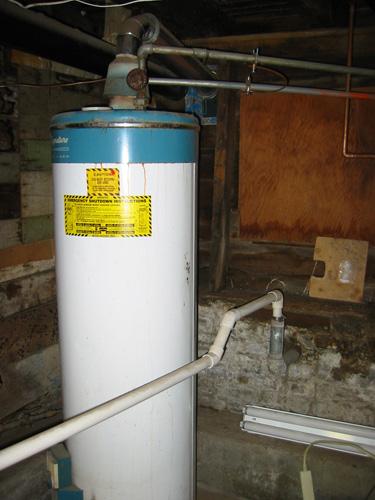 heat: water heater