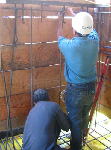 installing wall bars