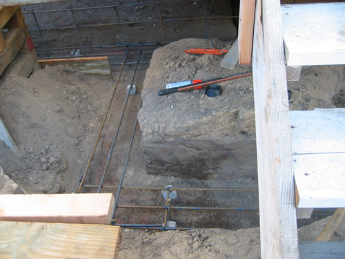 side porch footings