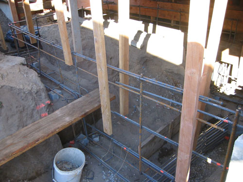 side porch formwork