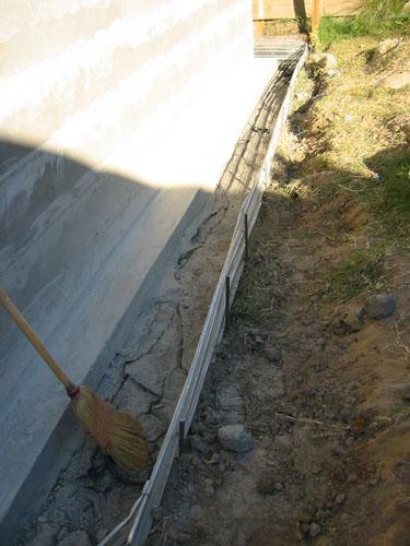 Back drainage