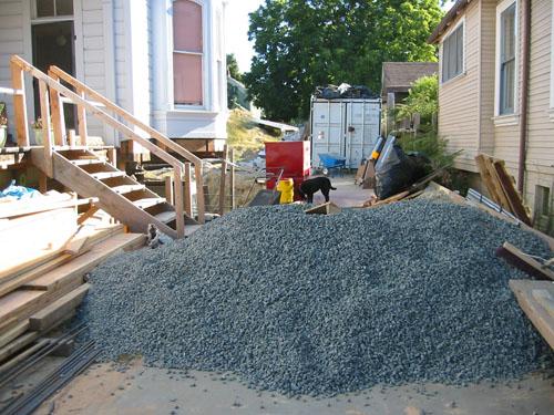 More gravel