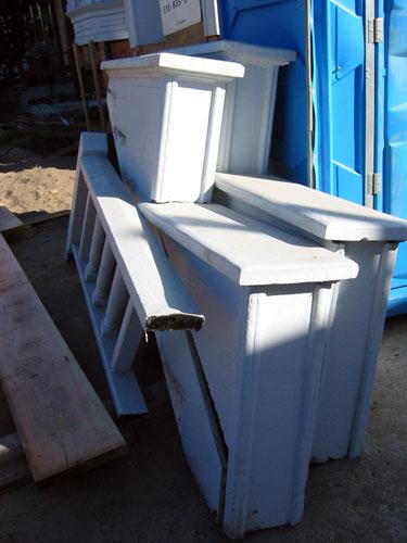 Porch sidewalls