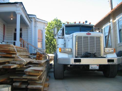 concrete arrives