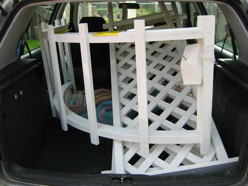 Arbor in the car