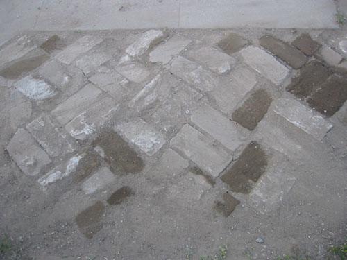 Brick transition