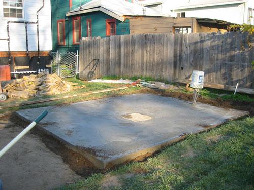 Soil added