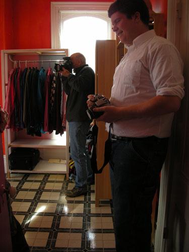 Photographing John's room