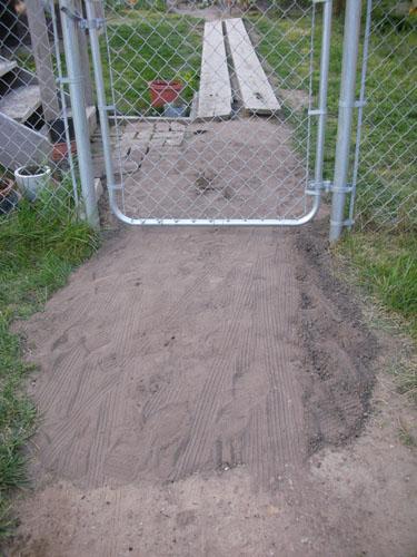 Raised pathway