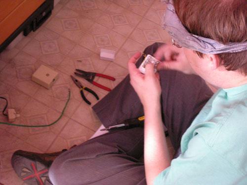 Wiring network jacks