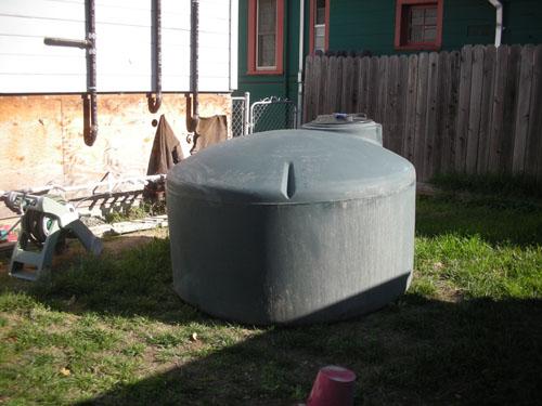 Big water tank