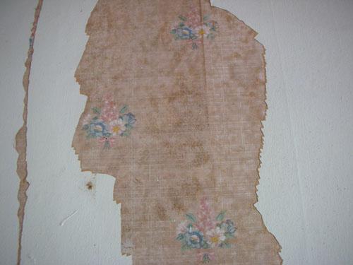 Boring floral wallpaper
