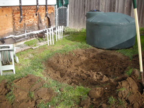 Rough soil removal complete