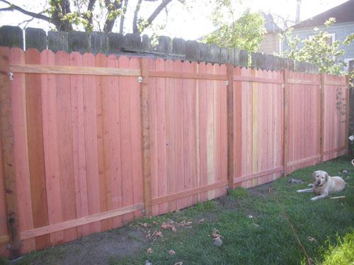 A fence!