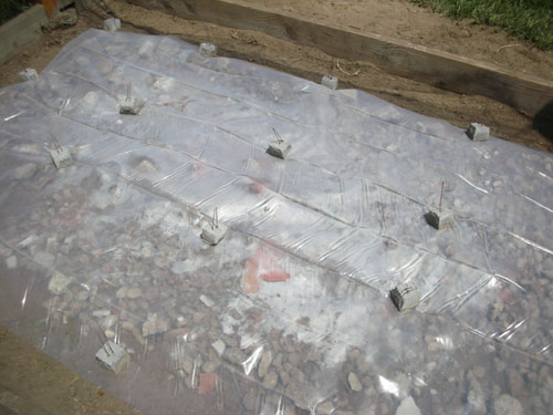 Plastic vapour barrier
