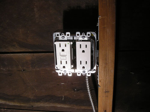 Countertop outlets