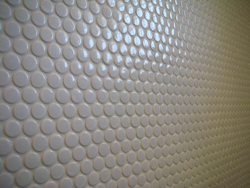 Cool round tiles
