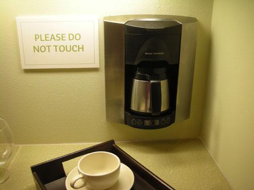 In-wall coffee maker