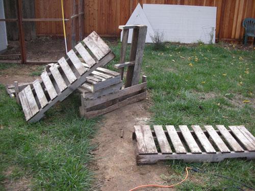 Cut up pallets