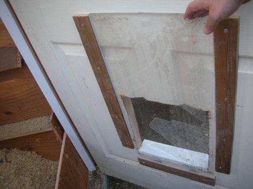 Testing the door panel