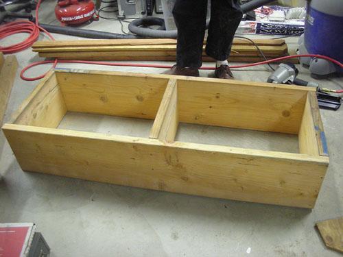 The big wooden box