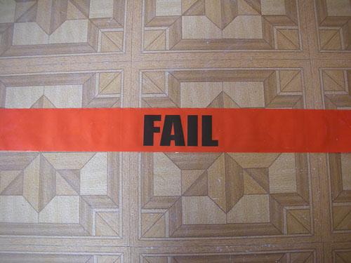 FAIL tape