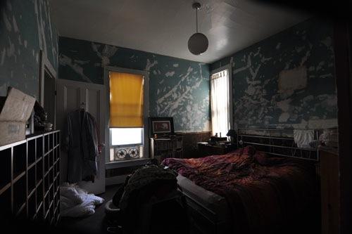 Back bedroom, messy