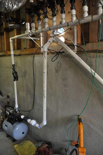 Indoor plumbing