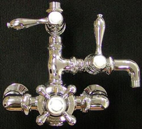 Steampunk shower controls