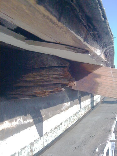 Rotten rafter ends