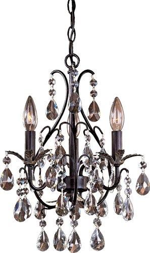 Front hallway mini-chandelier