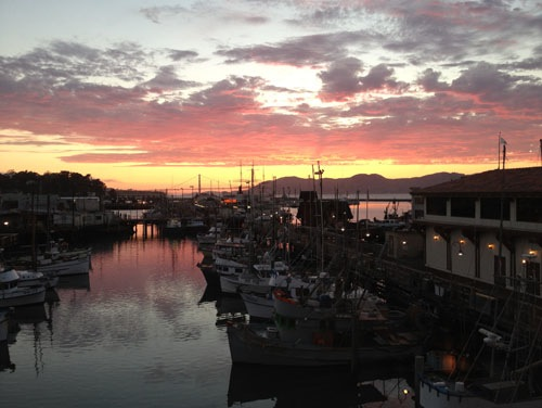 Sunset dinner at Alioto's at Fisherman's Wharf