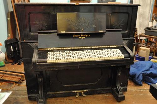 Jankó piano ready to play