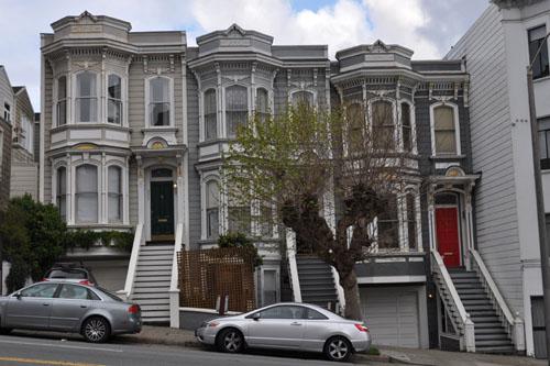 Trio of houses