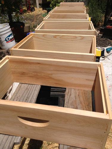Unpainted woodenware