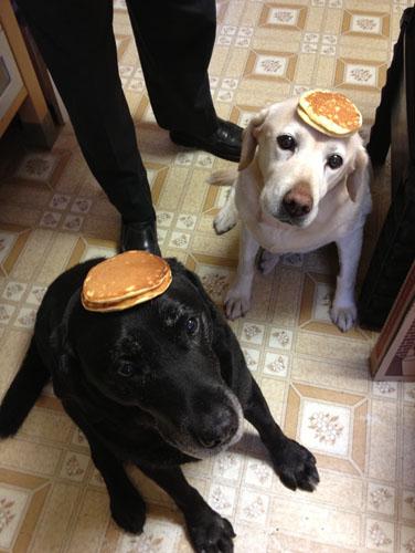 Double pancake trick