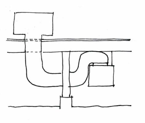 How the return air vent runs