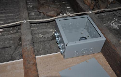 New box in the attic