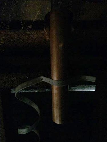 Attic pipe
