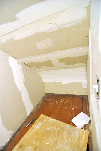 The hidey hole closet