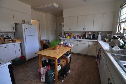 Still unpacking the kitchen