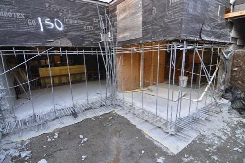 Concrete demoed away
