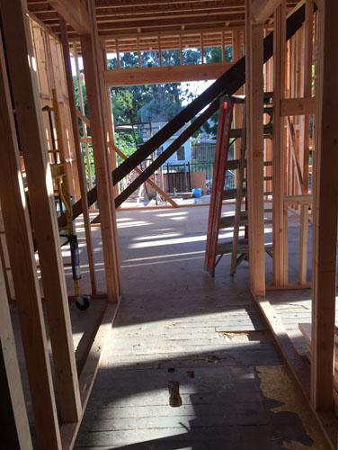 The pantry hallway