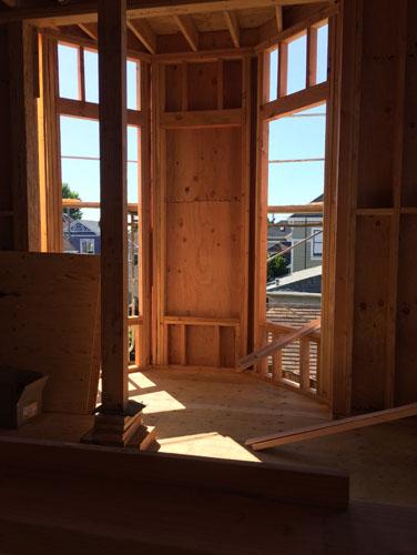 Bay window framing