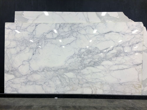 Arabecato Vagli Polished marble at Carmel