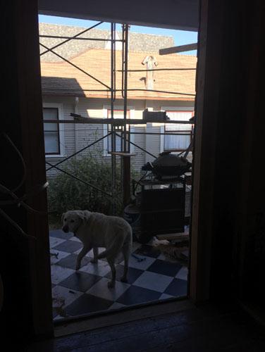 Side door open