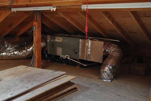 Air conditioning air handler