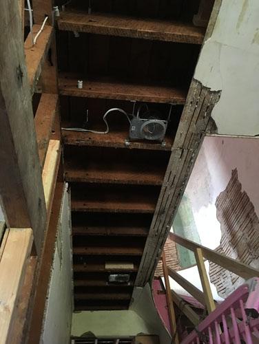 More ceilings down