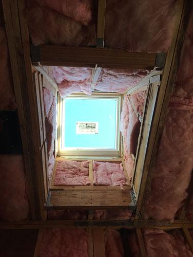 Skylight insulation